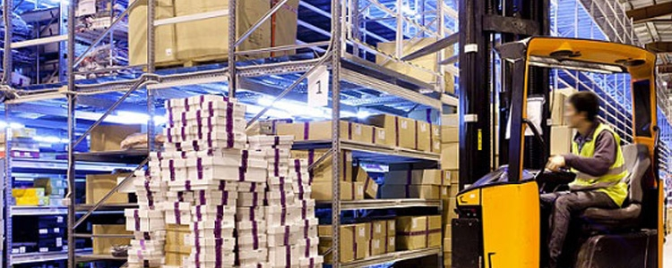 Implantations d'entreprises logistiques en France
